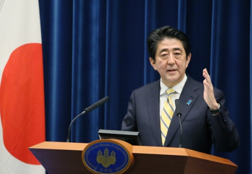 Abe wins re-election in Japan's snap polls