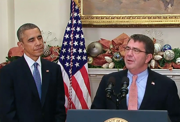 Obama names Ashton Carter as new defence secretary