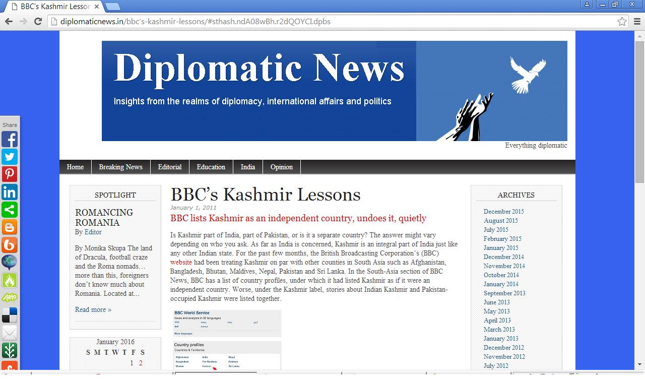 Diplomatic News Turns Five!
