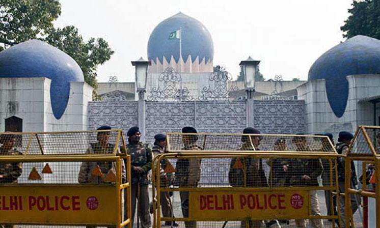 India cuts Pakistan by half