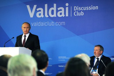 US disrupting world order: Putin